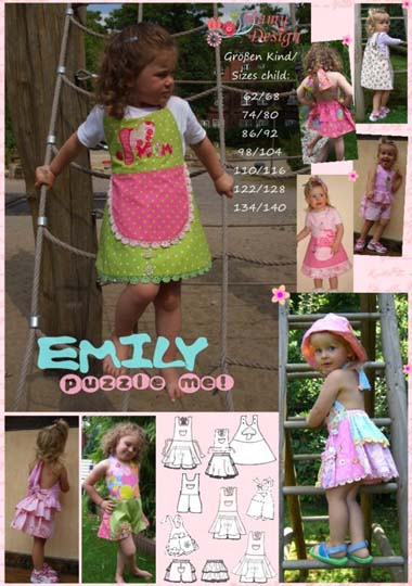 review of Emily Puzzle Me sewing pattern