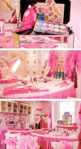 Happy Faces Hair Salon London princess party