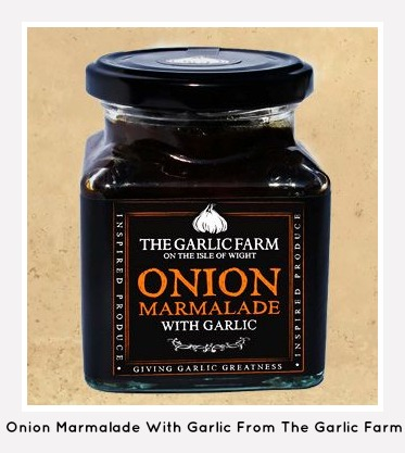 garlic and onion marmalade chutney
