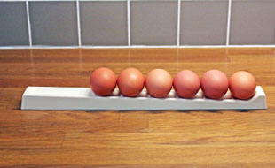egg roller for fresh eggs