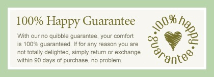 hotter 100% happy guarantee