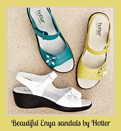 summer sandals by Hotter in Enya style