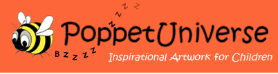 logo for Poppet Universe PoppetPuzzles