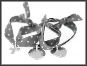 Merci Maman personalised charm bracelet
