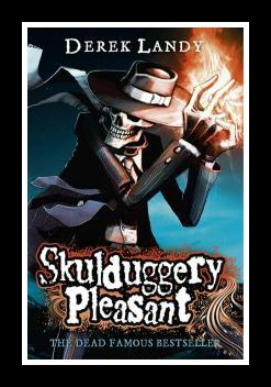 "Book 1 ""Skulduggery Pleasant""  Derek Landy"