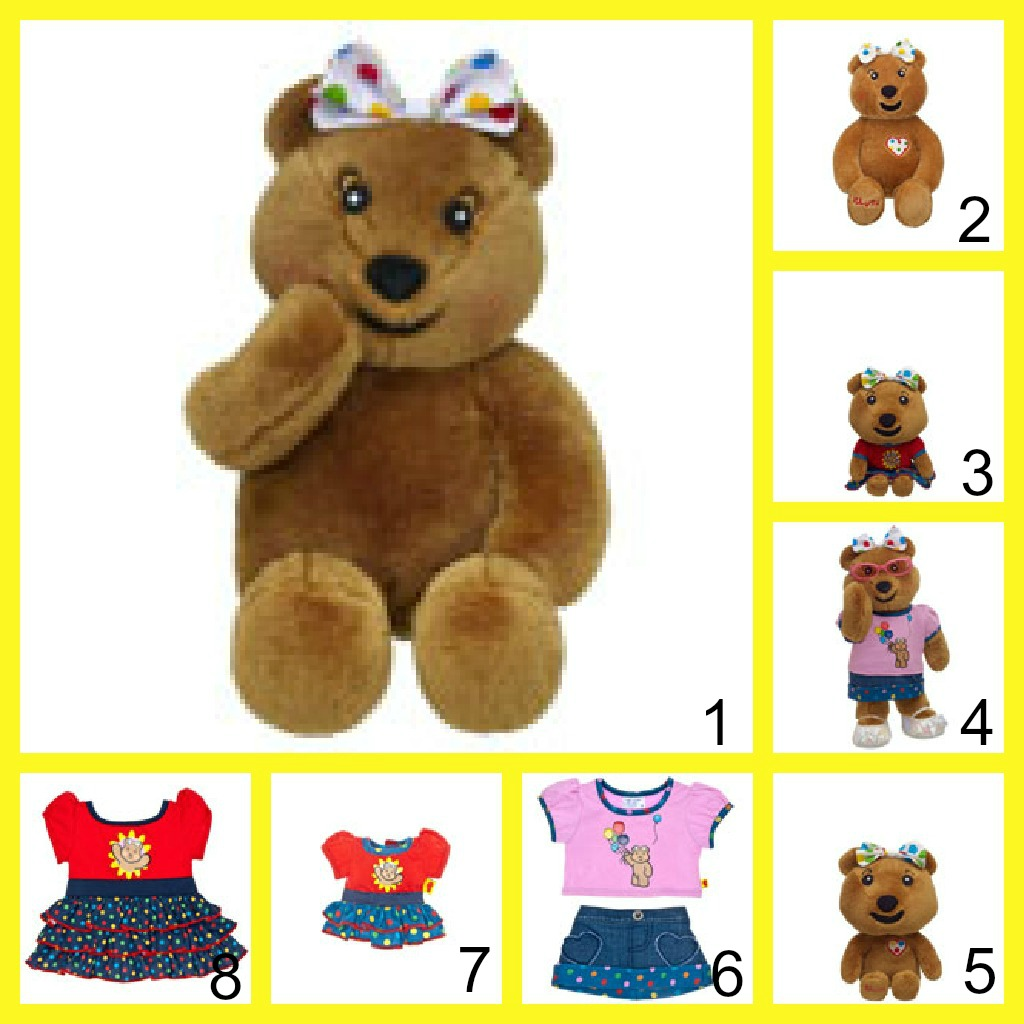 build-a-bear workshop blush bear children in need