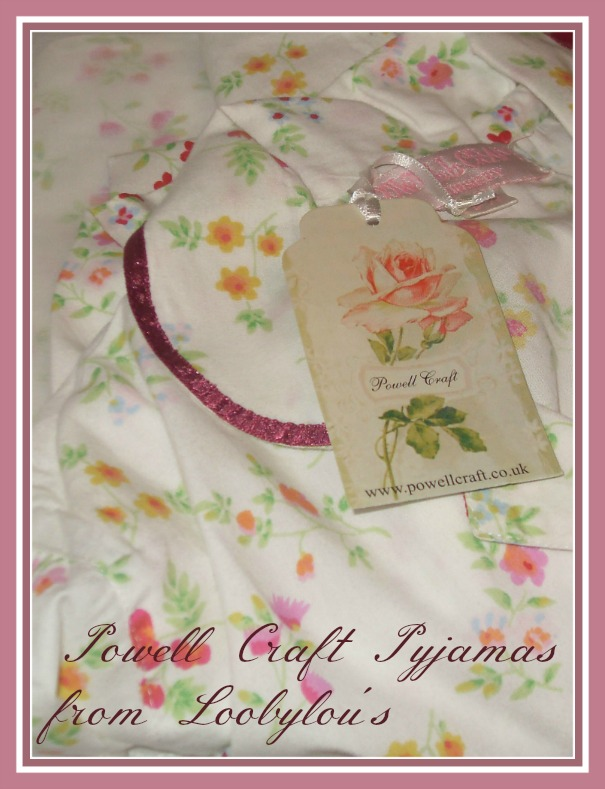 review of cotton powell craft pyjamas from Loobylou's