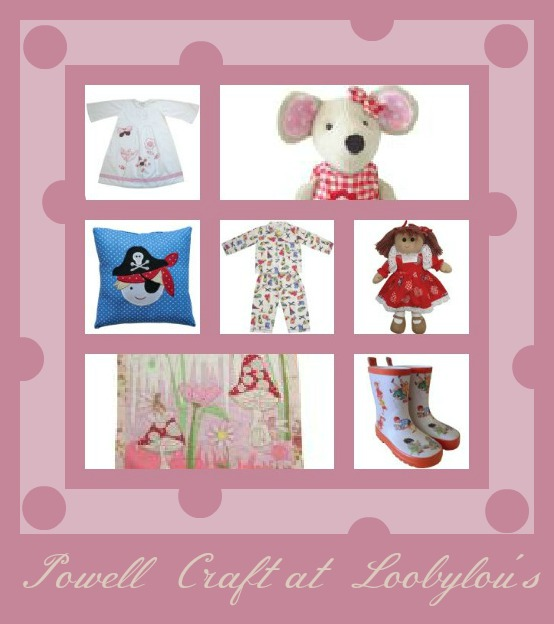 loobylou's review powell craft stockist