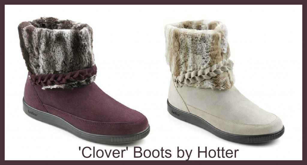 review of clover boots by hotter