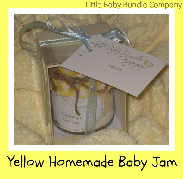 baby gift socks in a jar from Little Baby Bundle Company