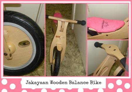 wooden balance bike from lloyds worcester Jakayaan
