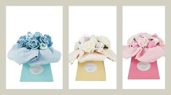 baby clothes bouquets from Little Baby Bundle Company