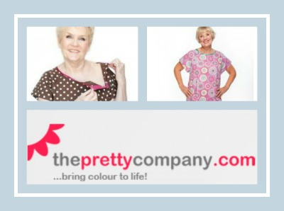 pretty hospital gowns from the pretty company