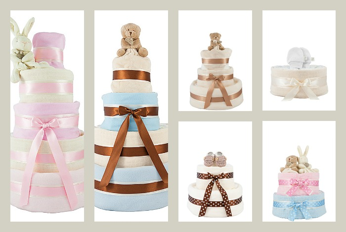 nappy cakes from Little Baby Bundle Company
