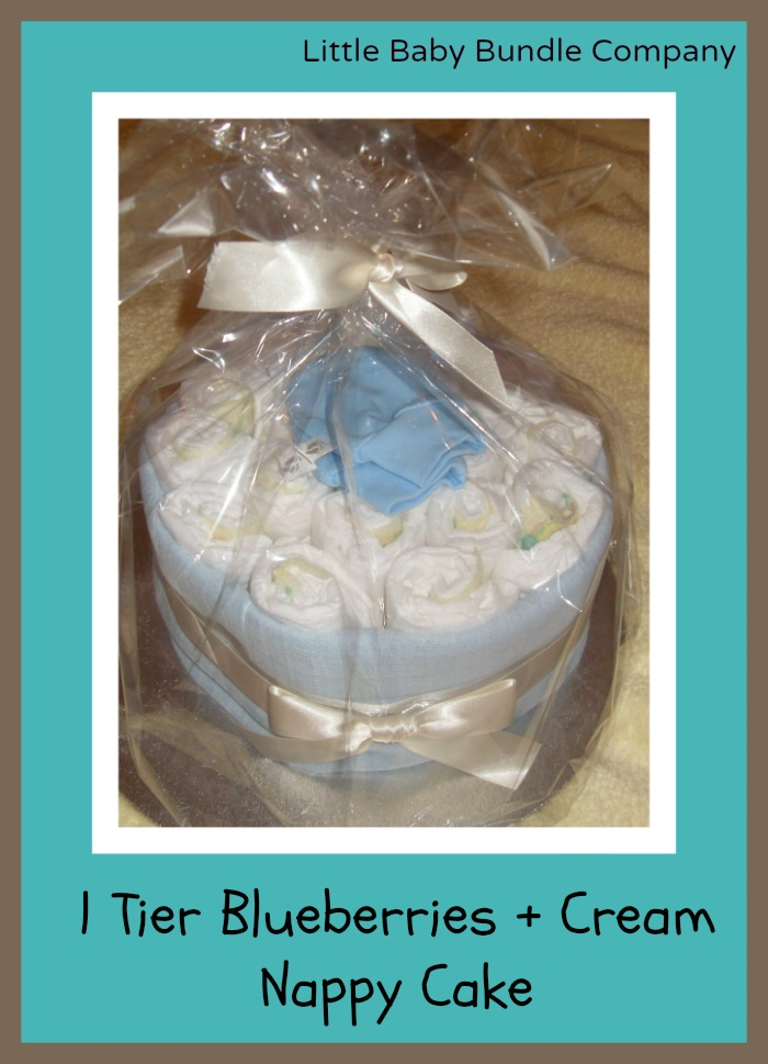 Diaper cake from Little Baby Bundle Company