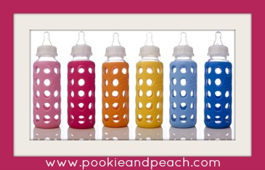 lifefactory weego glass baby bottles from pookie and peach