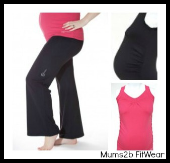 maternity sportwear for mums to be from mums2b fitwear
