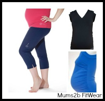maternity sports clothes from mums2b fitwear