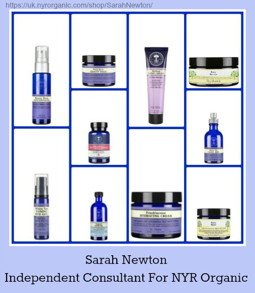 neal's yard remedies organics products from sarah newton independent consultant for NYR Organic