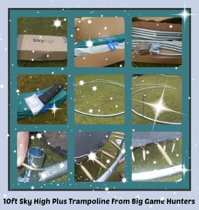 Big Game Hunters trampoline review 10ft sky high plus