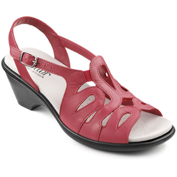 hotter crystal sandal english rose