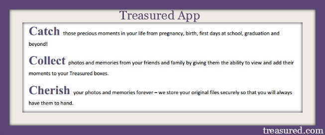 treasured app online digital memory book