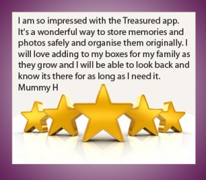 treasured app testimonial