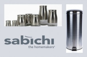 sabichi brushed stainless steel