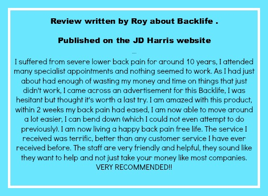 backlife review
