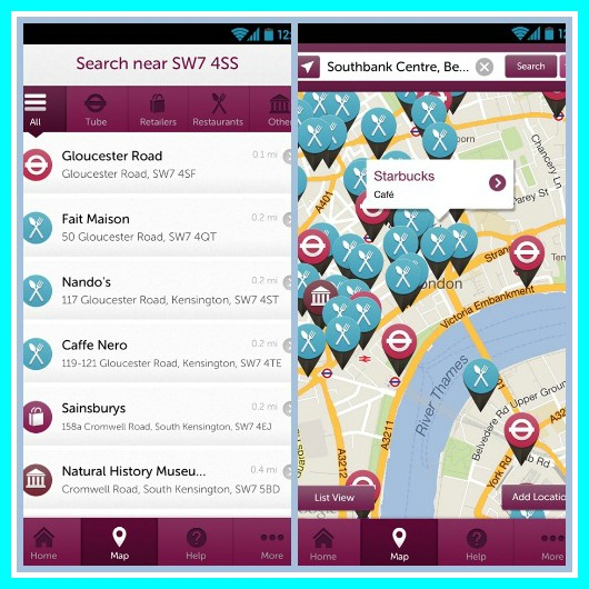 GoBaby app - the map app for parents on the go