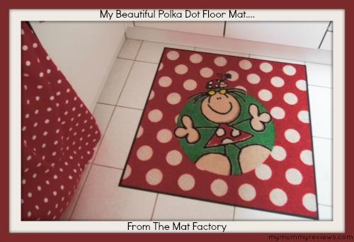 spotty florr mat