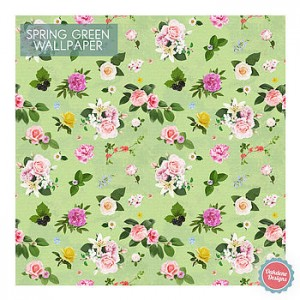 floral self adhesive wallpaper from oakdene Designs