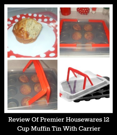 Review Of Premier Housewares 12 Cup Muffin Tin With Carrier