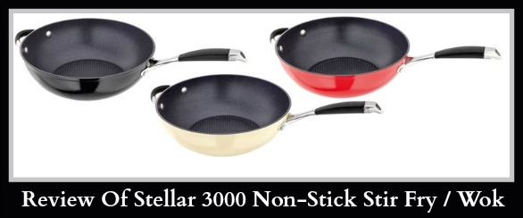 Stellar 3000 wok / stir fry