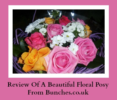 review of flower bouquet from bunches