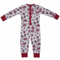 powell craft  red rose onesie