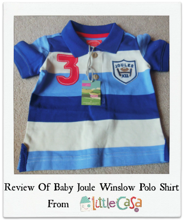 Review of Baby Joule Winslow Polo Shirt from Little Casa