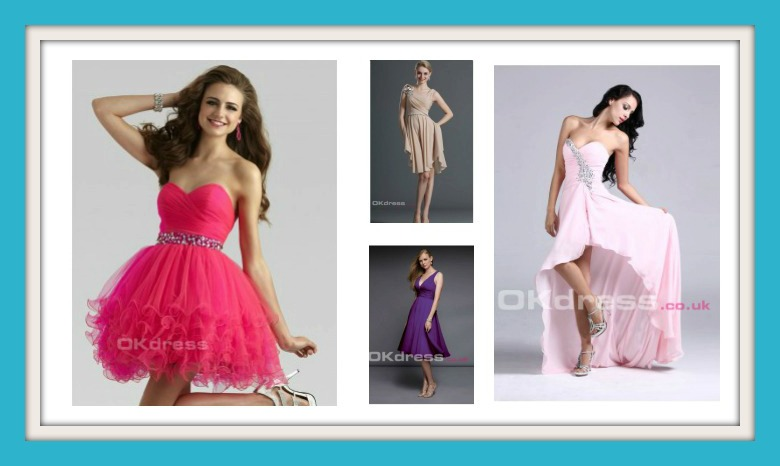 Beautiful prom dresses for under £50 from okdress.co.uk