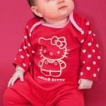 Hello Kitty Girls Sleepsuit