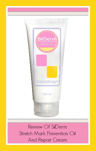 Review of SilDerm stretch mark prevention oil and repair cream