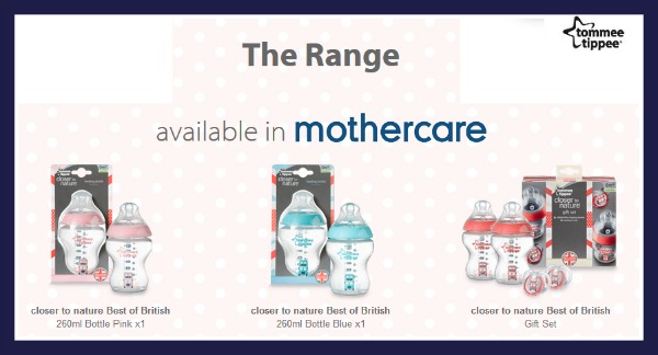 review of Best Of British baby bottles from Tommee Tippee