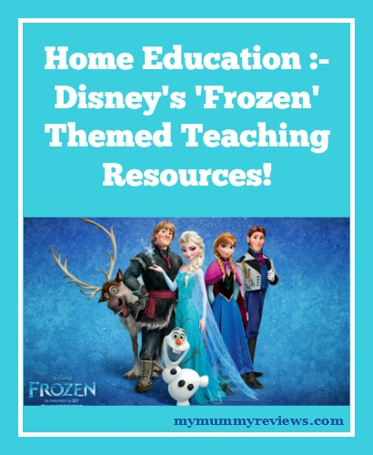 Home Education :- Frozen Teaching Resources!