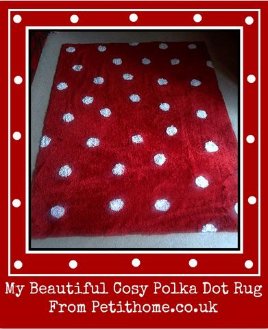 review of Lorena Canals polka dot rug from petithome.co.uk