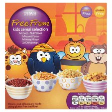 Tesco free from kids cereals