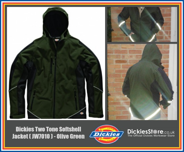 Dickies Two Tone Softshell Jacket review