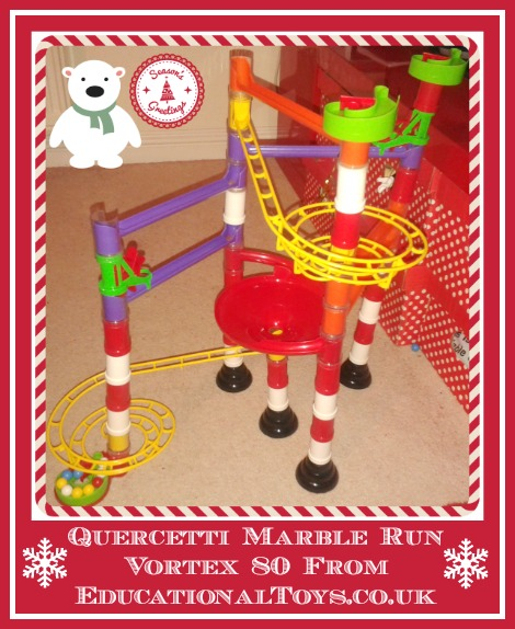 review of quercetti marble run vortex 80