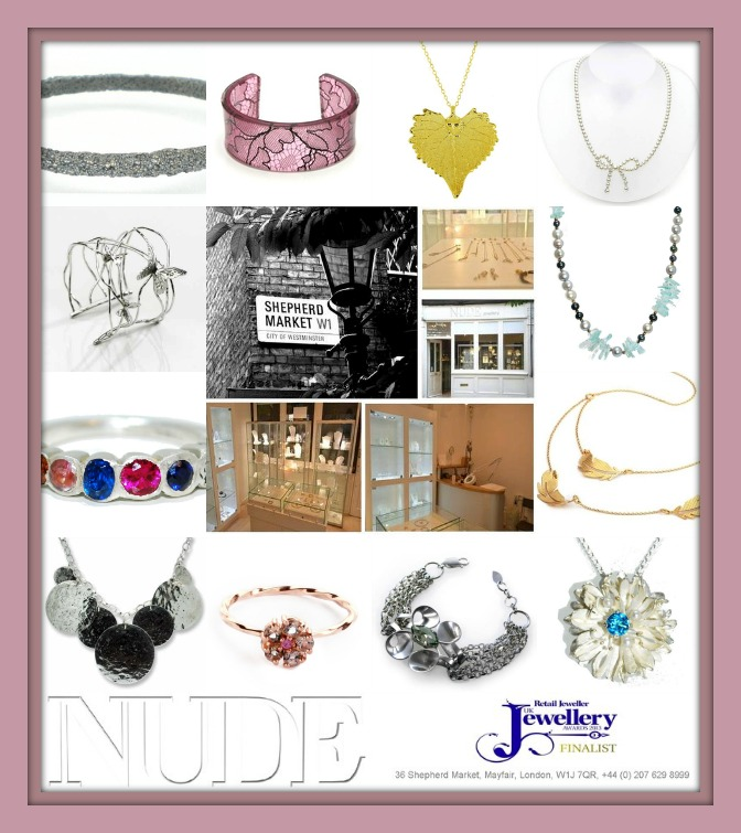 nude jewellery handmade jewellery London