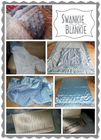 review of swankie blankie baby blanket