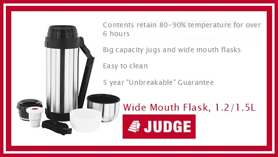 Review of Wide Mouth Flask, 1.2/1.5L