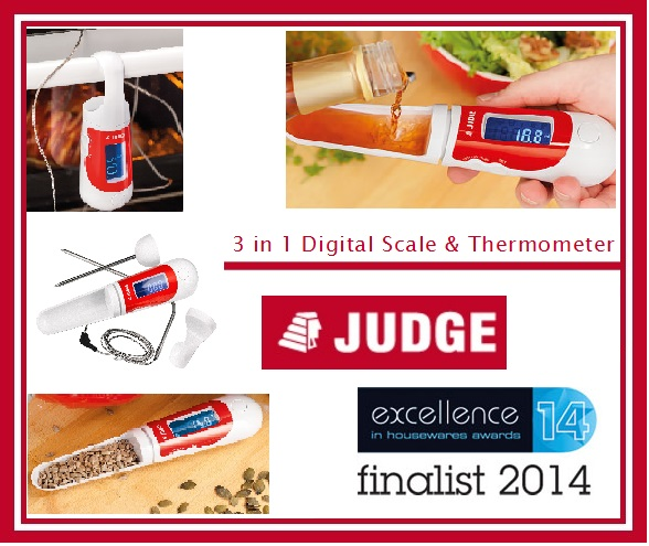 Review of Judge Kitchen 3 in 1 Digital Spoon Scale and Thermometer TC323